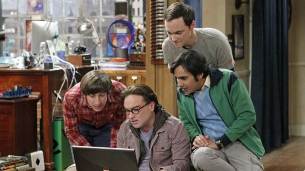The Big Bang Theory is the second most watched fiction show in the US.
