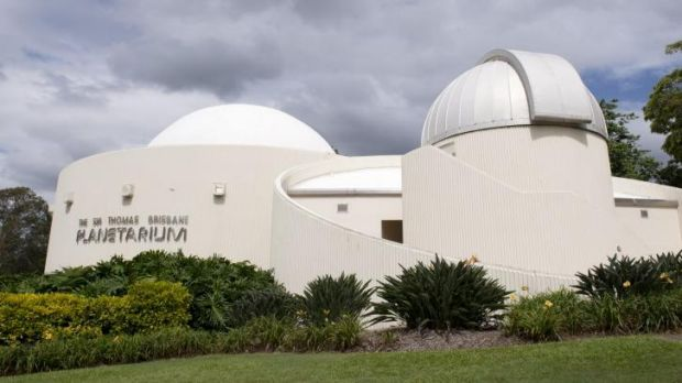 A genuine Brisbane gem, the  Thomas Brisbane Planetarium.