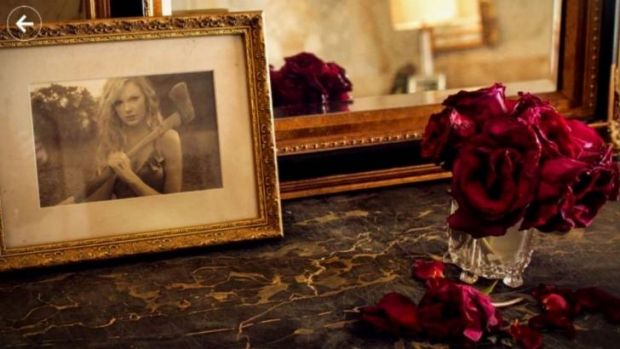 An Easter egg hidden within the American Express Unstaged: Taylor Swift Experience app shows a wilting bowl of roses. ...