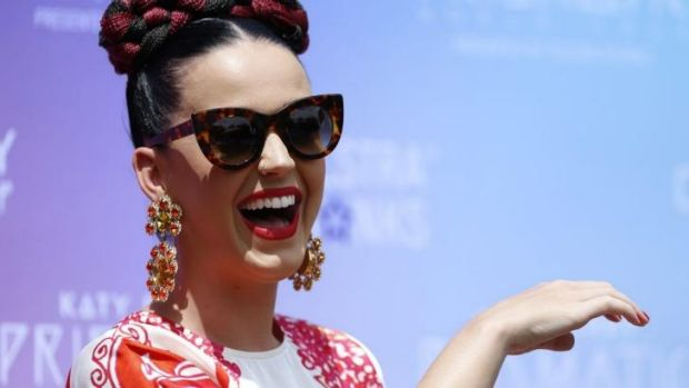 Singer Katy Perry at the Loreto Mandeville Hall Toorak.