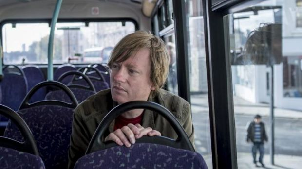 On another journey: novelist Michel Faber.