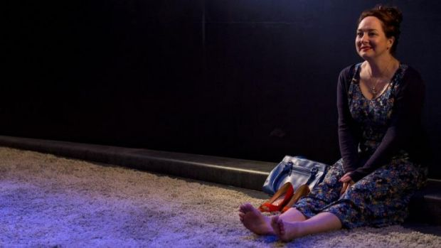 Shoes off: McElhinney is beautifully expressive as Ashley, the story's Cinderella figure.