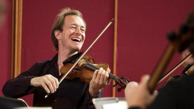 In harmony: Anthony Marwood with the Australian Chamber Orchestra.