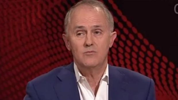 Malcolm Turnbull: insists the cuts are a savings measure.