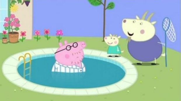 <i>Peppa Pig</i> gets woman's goat over name ridicule.