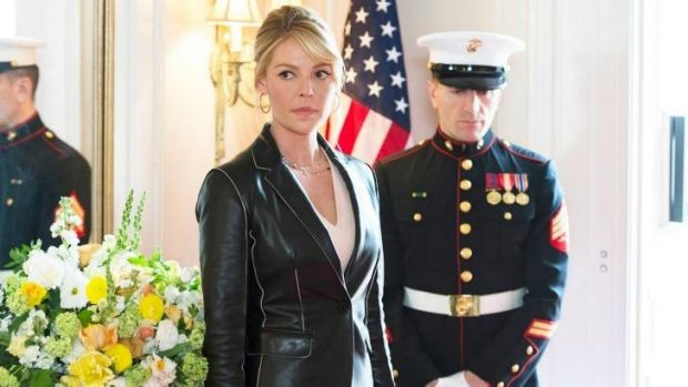 Katherine Heigl in her upcoming show <i>State of Affairs</i>, which has begun airing in the US.