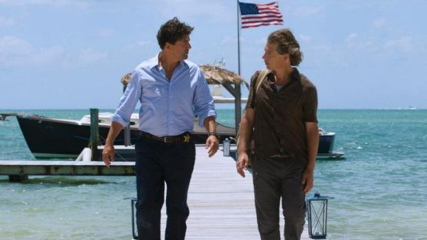 <i>Bloodline</i>: A thriller starring Australian Ben Mendelsohn (right).