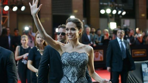 Over acting: Angelina Jolie says she is ready switch roles full time.