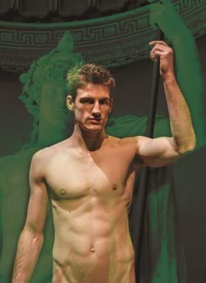 Ethan Gibson stars in Scandalous Boy at The Street Theatre.