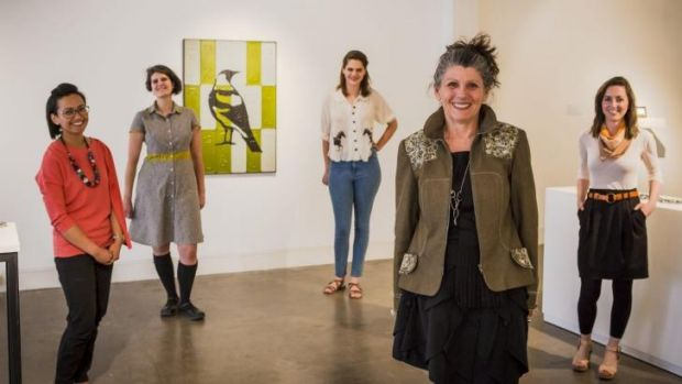 Staff of the Craft and Design Centre, who are behind the four-day festival DESIGN Canberra.