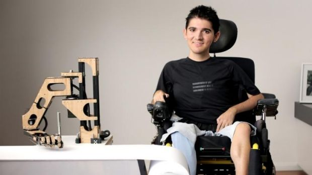 Handy device: Sydney studio Reactive's Most Powerful Arm gives children with Duchenne muscular dystrophy the ability to ...