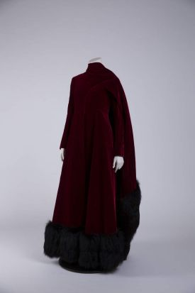 A costume worn by Barbra Streisand (Funny Girl, directed by William Wyler, 1968. Designer: Irene Sharaff) that is part ...