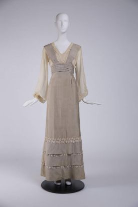 A costume worn by Grace Kelly (The Swan, directed by Charles Vidor, 1956. Designer: Helen Rose) that is part of the ...