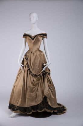 A costume worn by Ava Gardner (The Great Sinner, directed by Robert Siodmak, 1949. Designer: Irene) that is part of the ...