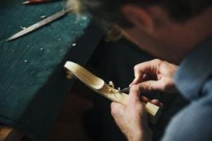 The tools of the trade are still the same as hundreds of years ago says violin-maker Hugh Withycombe.