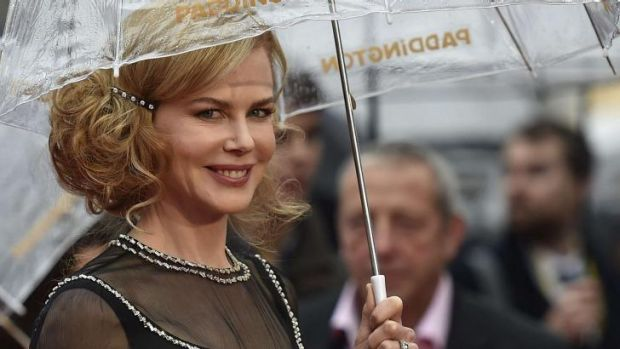 Nicole Kidman arrives for the world premiere of Paddington at Leicester Square in London.