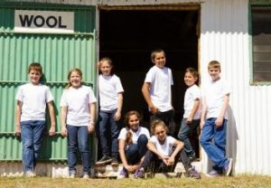 Outback kids: Members of the Moorambilla Voices Choir brought together by Michelle Leonard.