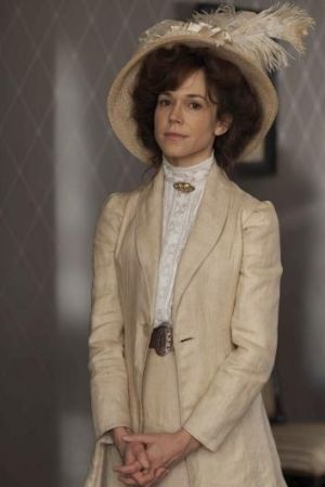All dressed up: Frances O'Connor in Mr Selfridge.