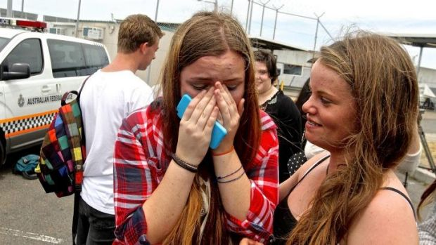 5 Seconds of Summer fan Eloise  Price brought to tears after getting a glimpse of the band.