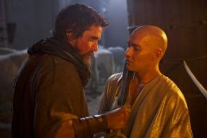Brotherly: Christian Bale and Joel Edgerton play Moses and Ramses in Ridley Scott's biblical epic.
