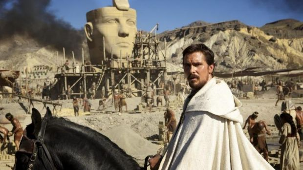 Schism: Christian Bale jumped at the chance to play Moses in Ridley Scott's <i>Exodus: Gods and Kings</i>.