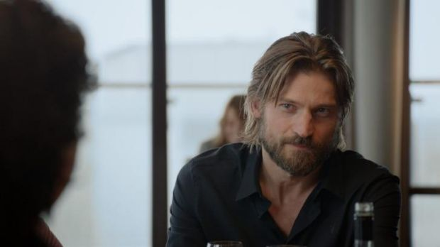 Danish actor Nikolaj Coster-Waldau stars opposite Binoche.