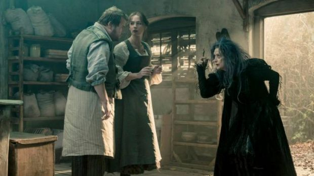 Emily Blunt stars opposite Meryl Streep on <i>Into the Woods</i>, and just as well she does.