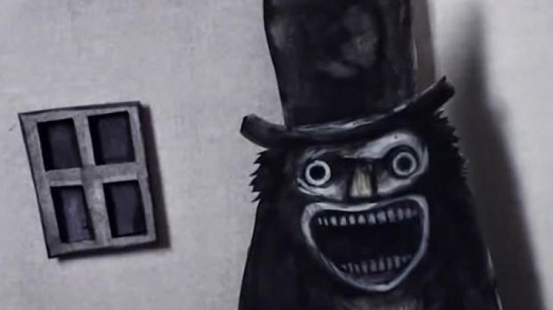 A frame from the pop-up book featured in <i>The Babadook</i>, a copy of which could now be yours.