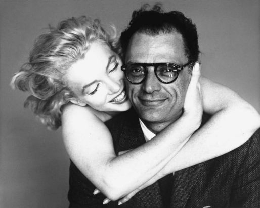 Marilyn Monroe and Arthur Miller, New York, May 8, 1957: With her handsome playwright husband Arthur Miller, Marilyn ...
