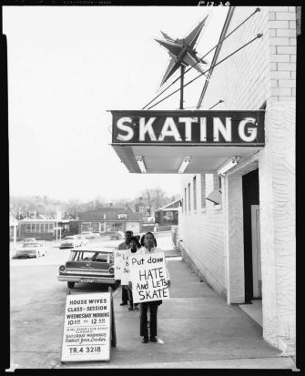 Civil rights demonstration, Atlanta, Georgia c. 1963: Social freedom is at the core of Avedon's portrait work, and with ...