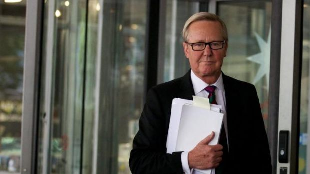 Dismayed: The host of <i>7.30 NSW</i>, Quentin Dempster, an ABC employee of more than 30 years, was sad about the loss ...