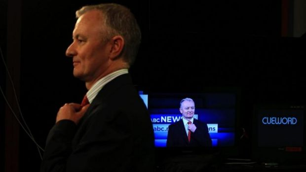 Legendary: For many, no election night is complete without ABC election analyst Antony Green.