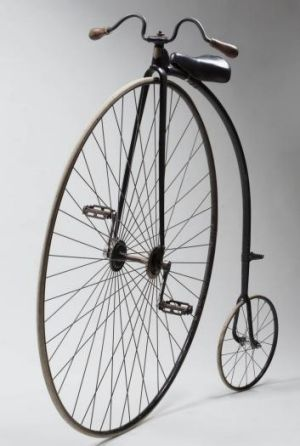 An English-made Cogent penny-farthing bicycle belonging to Harry Clarke (1884)