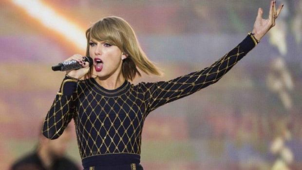 Taylor Swift: The songstress announced she is coming - although you will have to wait a year.
