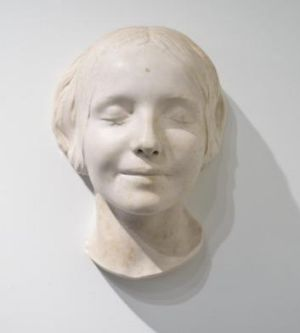 Death mask: L'Inconnue de la Seine attracts interest because of her beatific smile.