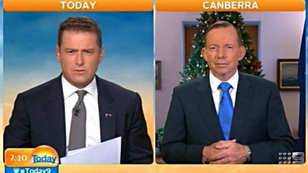Karl Stefanovic grills Tony Abbott over his budget.