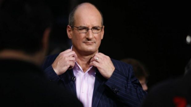 What's in a name? Sunrise presenter David Koch - or should that be Chris?