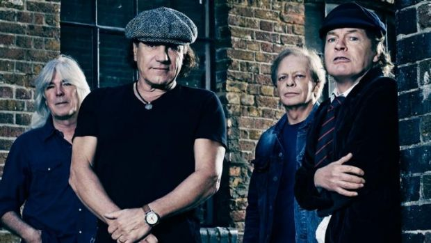 AC/DC go No.1 with <i>Rock or Bust</i>.