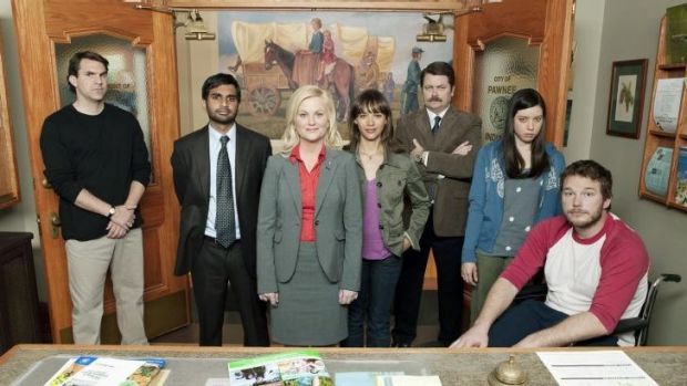 The final series of Parks and Recreation starts in the US on January 13.