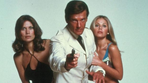 The worst age-gap offender: Roger Moore was the oldest Bond to date.