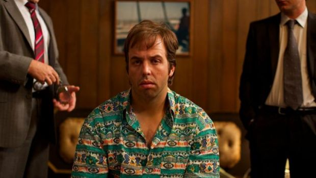 Well positioned: Angus Sampson in <i>The Mule</I>, which is doing well on digital platforms.