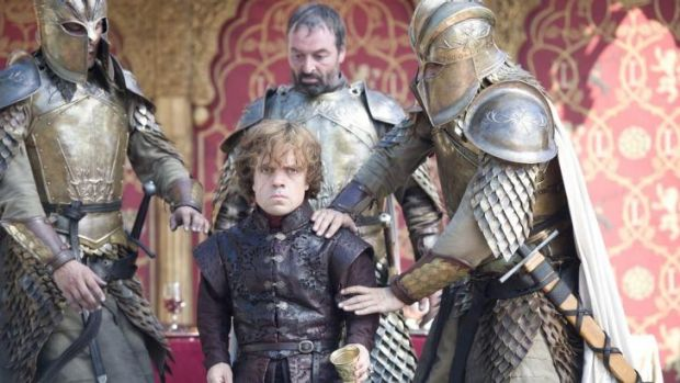 Big trouble: Tyrion Lannister (Peter Dinklage) in Game of Thrones.