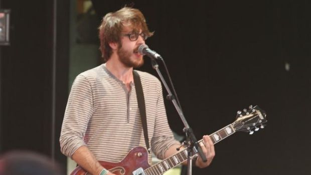 Alt-punk: Cloud Nothings at the Meredith Music Festival.