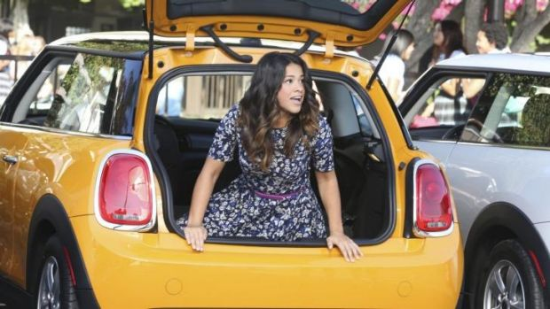 Fearless and carefree: Gina Rodriguez as Jane in <i>Jane the Virgin</i>.