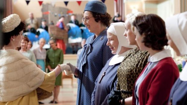 Nostalgic: Call The Midwife gets all emotional.