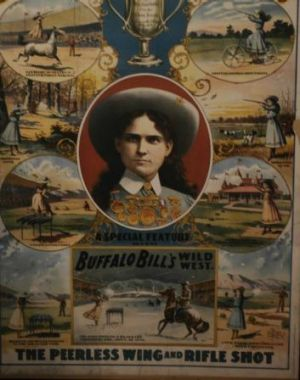The one and only Annie Oakley.