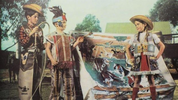 The Lindsay children were 'dragooned' into posing for packaging and promotional material