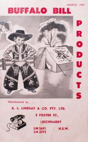An early Lindsay & Co poster.