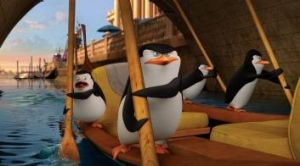 'Fun and freedom': Cumberbatch's voice can be heard in <i>Penguins of Madagascar</i>.