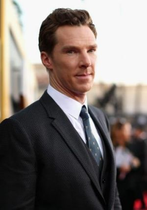 Benedict Cumberbatch at the Annual Hollywood Film Awards.